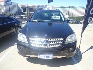 2007 Mercedes-Benz ML280 CDI W164 07 Upgrade Luxury (4x4) Black Magic 7 Speed Automatic G-Tronic.