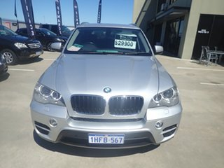 2011 BMW X5 E70 MY10 xDrive30d Silver Metallic 8 Speed Automatic Sequential Wagon.