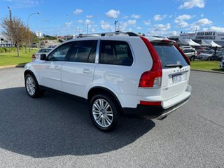 2010 Volvo XC90 MY10 D5 R-Design (AWD) White 6 Speed Automatic Geartronic Wagon