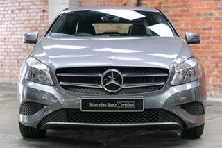 2015 Mercedes-Benz A-Class W176 805+055MY A180 D-CT Mountain Grey 7 Speed