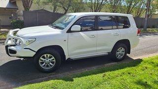 2010 Toyota Landcruiser UZJ200R 09 Upgrade GXL (4x4) 5 Speed Automatic Wagon.