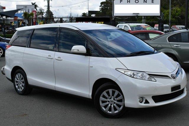Used Toyota Tarago ACR50R MY13 GLi Underwood, 2015 Toyota Tarago ACR50R MY13 GLi White 7 Speed CVT Auto Sequential Wagon