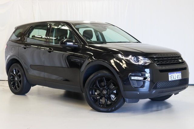Used Land Rover Discovery Sport L550 16MY Td4 HSE Wangara, 2015 Land Rover Discovery Sport L550 16MY Td4 HSE Black 9 Speed Sports Automatic Wagon