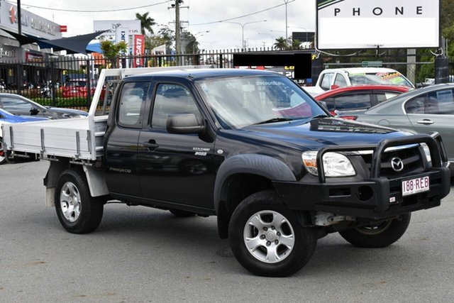Used Mazda BT-50 09 Upgrade Boss B3000 Freestyle DX+ Underwood, 2010 Mazda BT-50 09 Upgrade Boss B3000 Freestyle DX+ Black 5 Speed Manual Cab Chassis