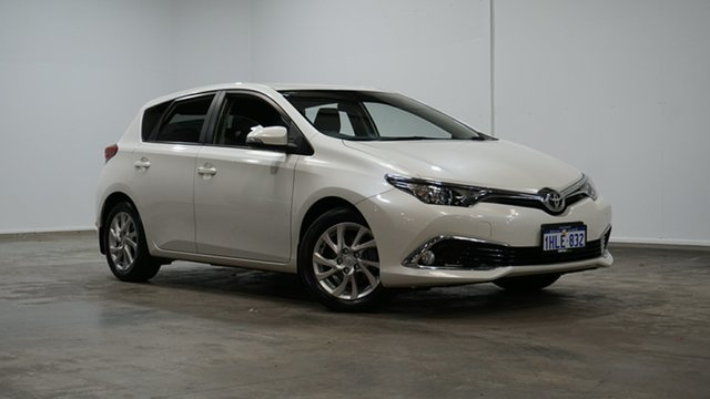 Used Toyota Corolla ZRE182R Ascent Sport S-CVT Welshpool, 2018 Toyota Corolla ZRE182R Ascent Sport S-CVT White 7 Speed Constant Variable Hatchback
