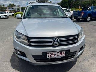2015 Volkswagen Tiguan 5N MY16 132TSI DSG 4MOTION Silver 7 Speed Sports Automatic Dual Clutch Wagon