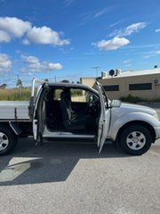 2012 Nissan Navara D40 ST-X (4x4) Silver 5 Speed Automatic King Cab Chassis