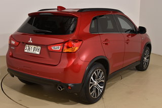 2017 Mitsubishi ASX XC MY17 LS 2WD Metallic Red 6 Speed Constant Variable Wagon