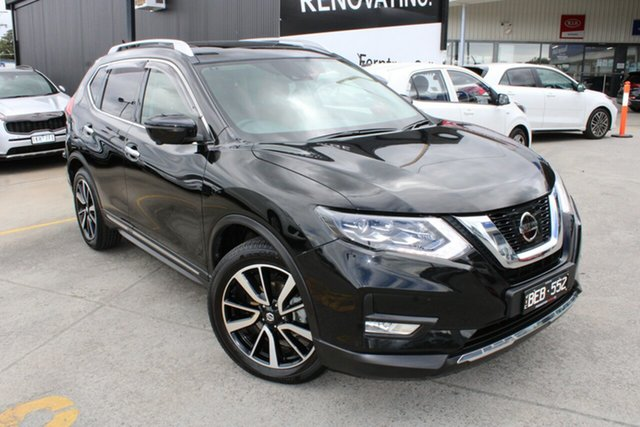 Used Nissan X-Trail T32 Series II Ti X-tronic 4WD Ferntree Gully, 2020 Nissan X-Trail T32 Series II Ti X-tronic 4WD Black/Grey 7 Speed Constant Variable Wagon