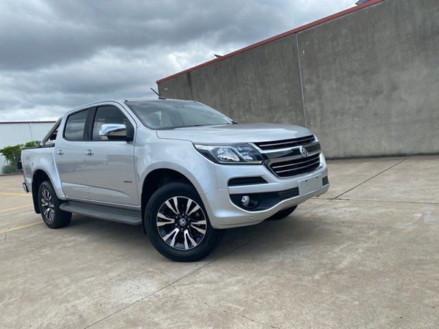 Used Holden Colorado RG MY18 LTZ Pickup Crew Cab Hervey Bay, 2018 Holden Colorado RG MY18 LTZ Pickup Crew Cab Silver 6 Speed Sports Automatic Utility