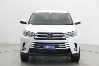 2019 Toyota Kluger GSU50R GX 2WD White 8 Speed Sports Automatic Wagon.