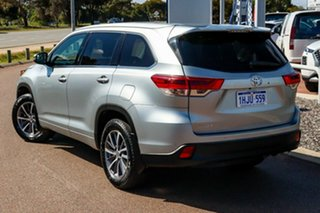 2019 Toyota Kluger GSU50R GXL 2WD Silver/leather Accented Black 8 Speed Sports Automatic Wagon.