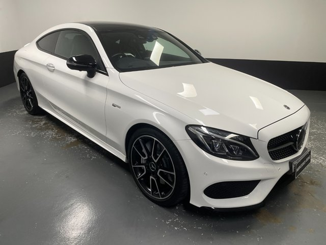 Used Mercedes-Benz C-Class C205 807+057MY C43 AMG 9G-Tronic 4MATIC Newcastle West, 2017 Mercedes-Benz C-Class C205 807+057MY C43 AMG 9G-Tronic 4MATIC White 9 Speed Sports Automatic