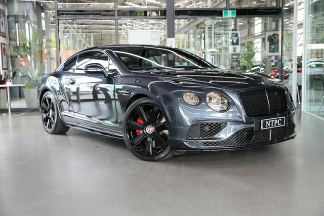 Used Bentley Continental 3W MY16 GT V8 S North Melbourne, 2016 Bentley Continental 3W MY16 GT V8 S Grey 8 Speed Sports Automatic Coupe