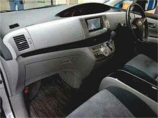 2007 Toyota Estima GSR50W Aeras Silver Automatic Wagon.