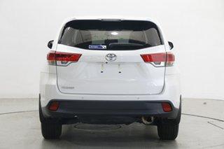 2019 Toyota Kluger GSU50R GX 2WD White 8 Speed Sports Automatic Wagon
