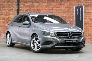 2015 Mercedes-Benz A-Class W176 805+055MY A180 D-CT Mountain Grey 7 Speed.