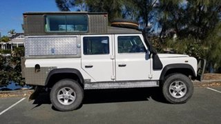 2005 Land Rover Defender 110 TD5 Extreme (4x4) White 5 Speed Manual Wagon.