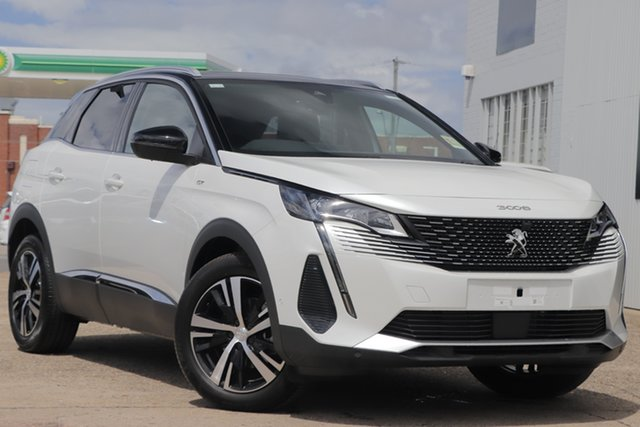 New Peugeot 3008 P84 MY21 GT SUV Cardiff, 2021 Peugeot 3008 P84 MY21 GT SUV White 8 Speed Sports Automatic Hatchback
