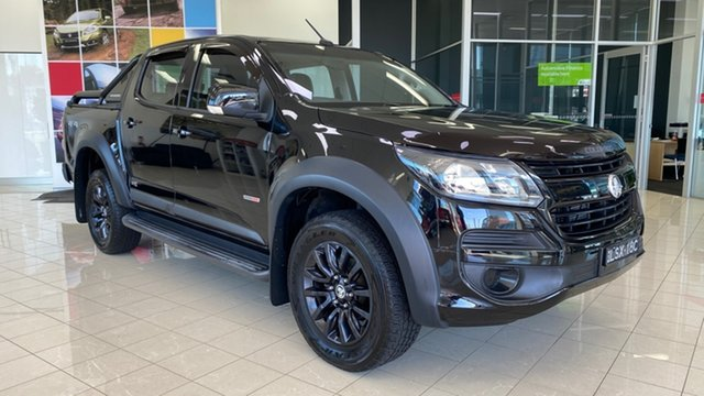 Used Holden Colorado RG MY19 LS Pickup Crew Cab Cardiff, 2018 Holden Colorado RG MY19 LS Pickup Crew Cab Black 6 Speed Sports Automatic Utility