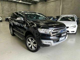 2015 Ford Everest UA Titanium Black 6 Speed Sports Automatic SUV.