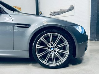 2009 BMW M3 E90 MY10 M-DCT Grey 7 Speed Sports Automatic Dual Clutch Sedan.