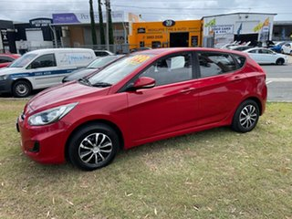 2014 Hyundai Accent RB2 Active Maroon 4 Speed Sports Automatic Hatchback