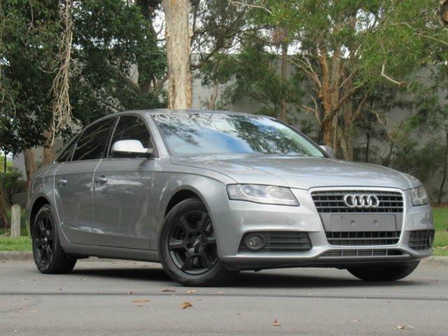 Used Audi A4 B8 8K MY11 Multitronic, 2011 Audi A4 B8 8K MY11 Multitronic Grey 8 Speed Constant Variable Sedan