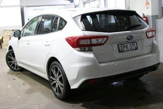 2017 Subaru Impreza MY18 2.0I Premium (AWD) Pearl White Continuous Variable Hatchback.