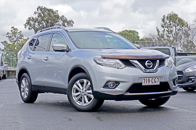 Used Nissan X-Trail T32 ST-L X-tronic 2WD Ebbw Vale, 2015 Nissan X-Trail T32 ST-L X-tronic 2WD Silver 7 Speed Constant Variable Wagon