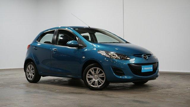 Used Mazda 2 DE10Y2 MY13 Neo Welshpool, 2012 Mazda 2 DE10Y2 MY13 Neo Blue 4 Speed Automatic Hatchback