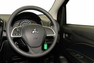 2021 Mitsubishi Mirage LB MY22 ES Wine Red 1 Speed Constant Variable Hatchback