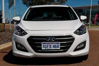 2017 Hyundai i30 GD4 Series II MY17 Active X White 6 Speed Sports Automatic Hatchback