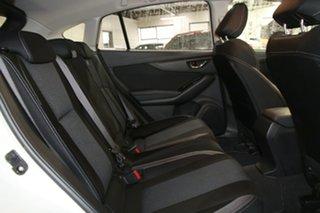 2017 Subaru Impreza MY18 2.0I Premium (AWD) Pearl White Continuous Variable Hatchback