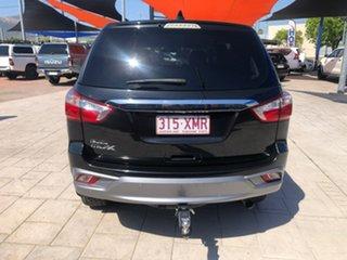 2017 Isuzu MU-X MY17 LS-U Rev-Tronic 4x2 Black 6 Speed Sports Automatic Wagon