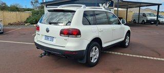 2008 Volkswagen Touareg 7L MY08 R5 TDI 4XMOTION White 6 Speed Sports Automatic Wagon