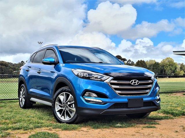 Used Hyundai Tucson TLe MY17 Elite 2WD St Marys, 2017 Hyundai Tucson TLe MY17 Elite 2WD Blue 6 Speed Sports Automatic Wagon
