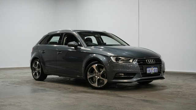 Used Audi A3 8V MY14 Ambition S Tronic Quattro Welshpool, 2014 Audi A3 8V MY14 Ambition S Tronic Quattro Grey 6 Speed Sports Automatic Dual Clutch Sedan