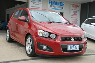 2013 Holden Barina TM MY13 CDX Red 6 Speed Automatic Hatchback