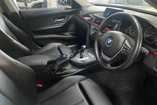 2015 BMW 3 Series F30 MY1114 316i Sport Line White 8 Speed Automatic Sedan