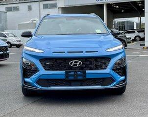 2021 Hyundai Kona Os.v4 MY21 N-Line D-CT AWD V7u 7 Speed Sports Automatic Dual Clutch Wagon.