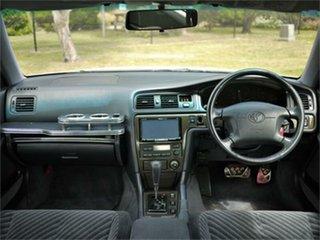 1997 Toyota Chaser JZX100 Tourer V White 4 Speed Automatic Sedan