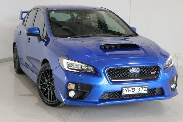 Used Subaru WRX V1 MY15 STI AWD Wagga Wagga, 2015 Subaru WRX V1 MY15 STI AWD Blue 6 Speed Manual Sedan