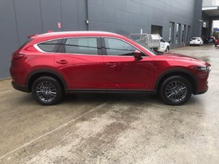 2021 Mazda CX-8 KG4W2A Sport SKYACTIV-Drive i-ACTIV AWD Soul Red Crystal 6 Speed Sports Automatic