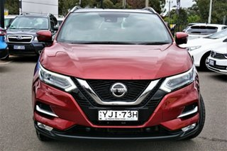 2018 Nissan Qashqai J11 Series 2 Ti X-tronic Red 1 Speed Constant Variable Wagon.