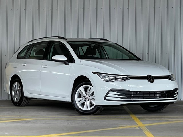 New Volkswagen Golf 8 MY21 110TSI Moorabbin, 2021 Volkswagen Golf 8 MY21 110TSI White 8 Speed Sports Automatic Hatchback