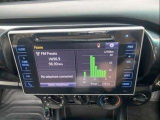 2017 Toyota Hilux GUN126R MY17 SR (4x4) Glacier White 6 Speed Automatic Dual Cab Utility
