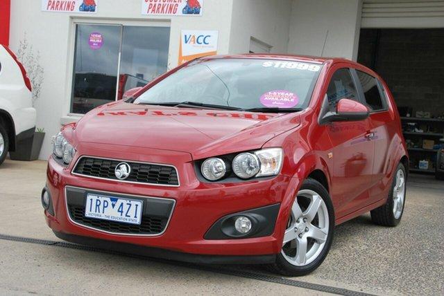 Used Holden Barina TM MY13 CDX Wendouree, 2013 Holden Barina TM MY13 CDX Red 6 Speed Automatic Hatchback