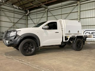 2016 Nissan Navara D23 RX White 7 Speed Sports Automatic Cab Chassis.
