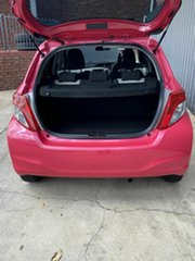 2013 Toyota Yaris NCP130R YR Pink 4 Speed Automatic Hatchback